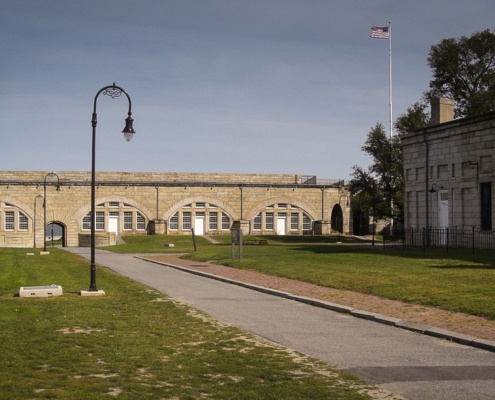 Fort Adams Innenhof