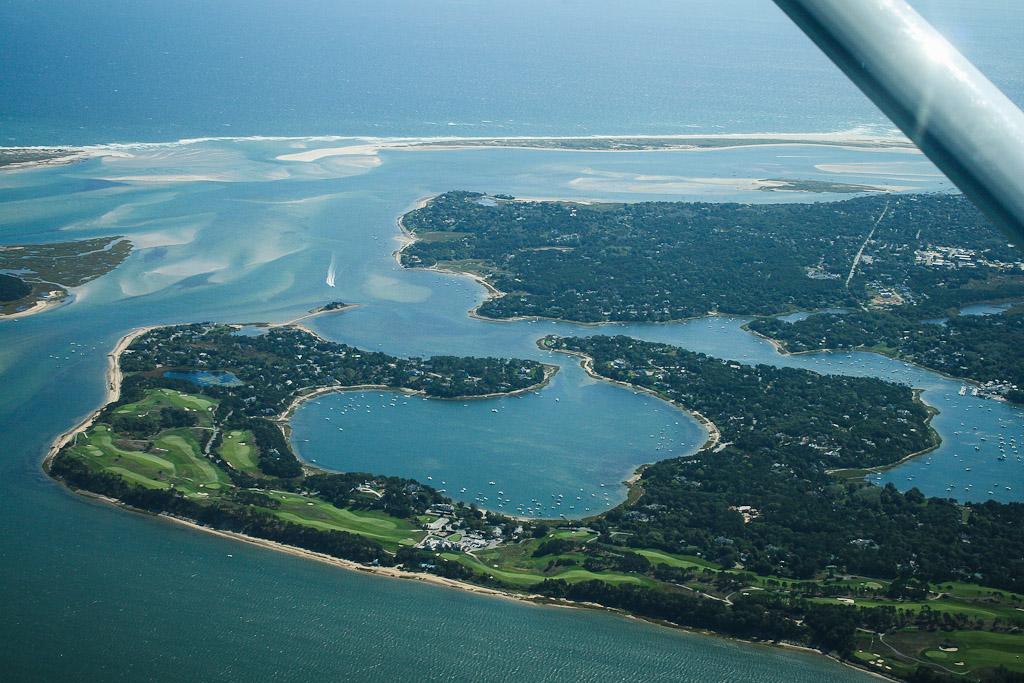 Rundflug: Blick auf Cape Cod, Martha's Vineyard und Nantucket