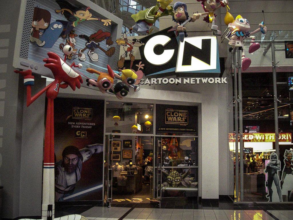 Cartoon Network Gift Shop @ CNN Studios Atlanta