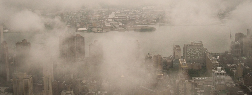 New York im Nebel