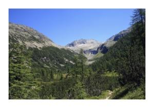Blick in Richtung Kärnten