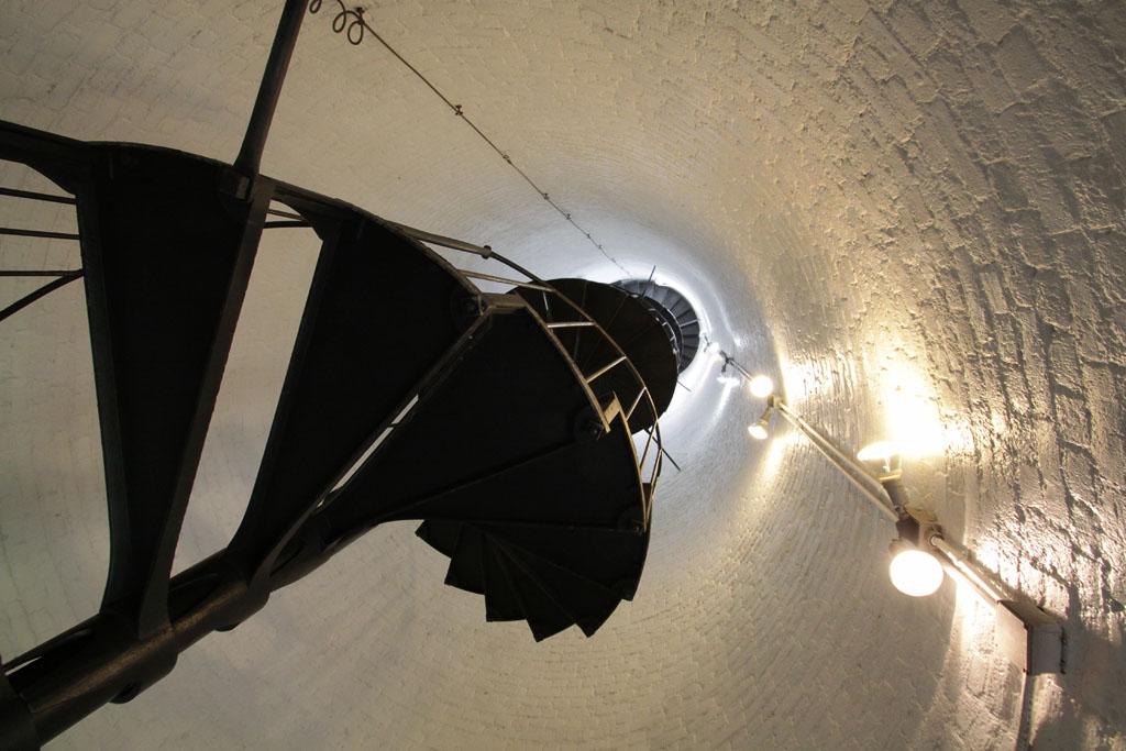 Leuchtturm: die Treppe