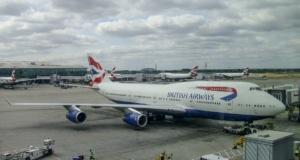 BA 747 @ London Heathrow