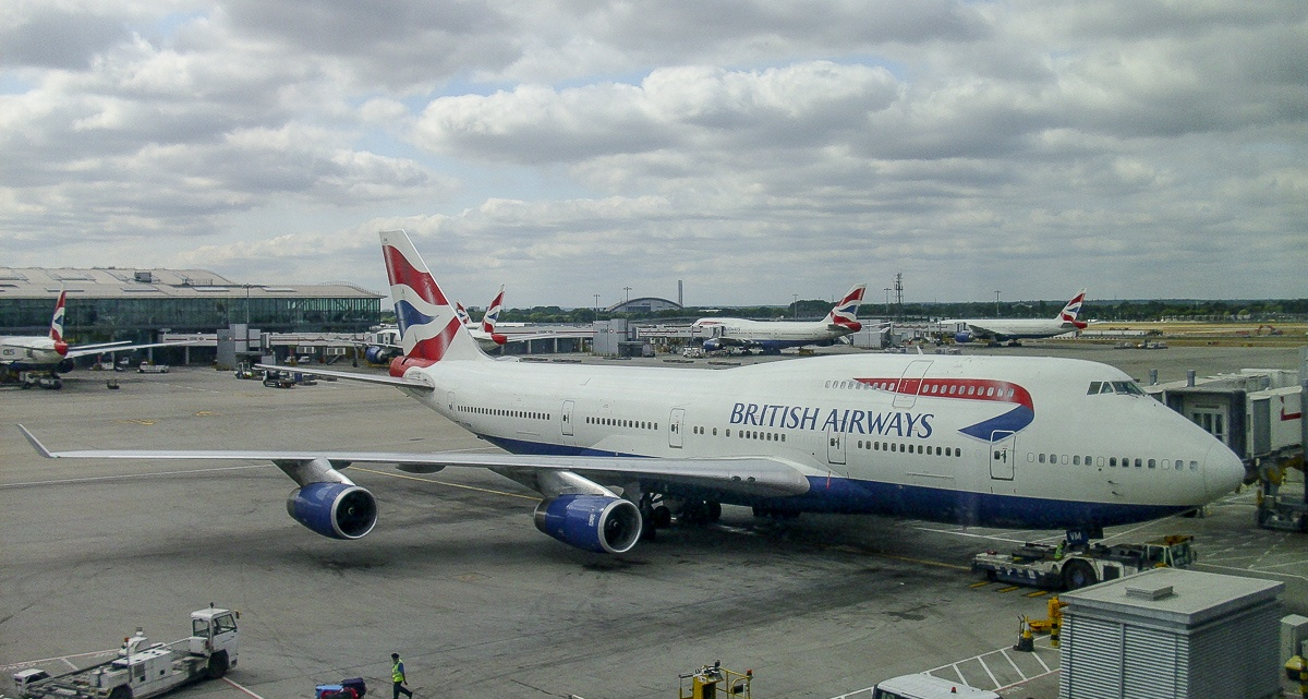 BA 747 @ London Heathrow