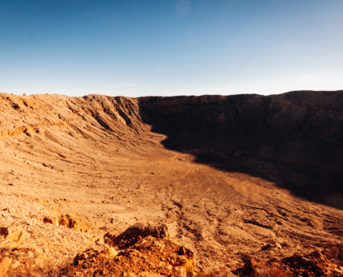 Barringer Crater, Arizona