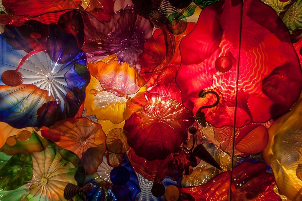 Kunst an der Decke