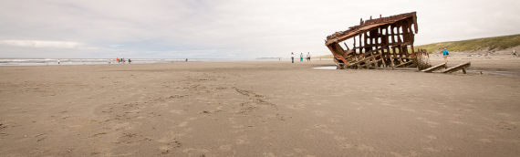 Wrack der Peter Iredale