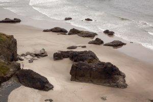 Blick auf den Strand @ Bird Point