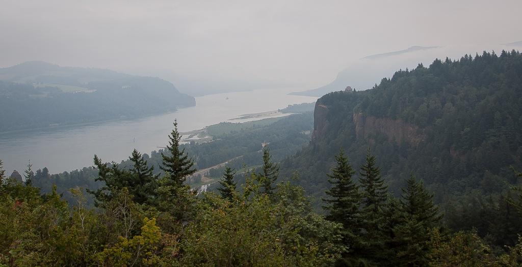 Blick auf den Crown Vista Point
