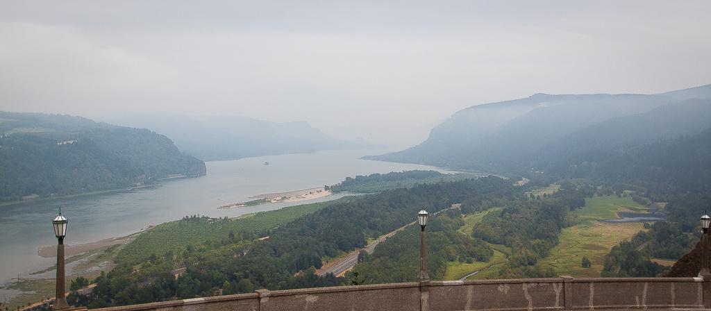 Aussicht vom Crown Vista Point