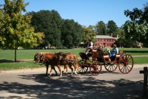 Postkutsche in Colonial Williamsburg
