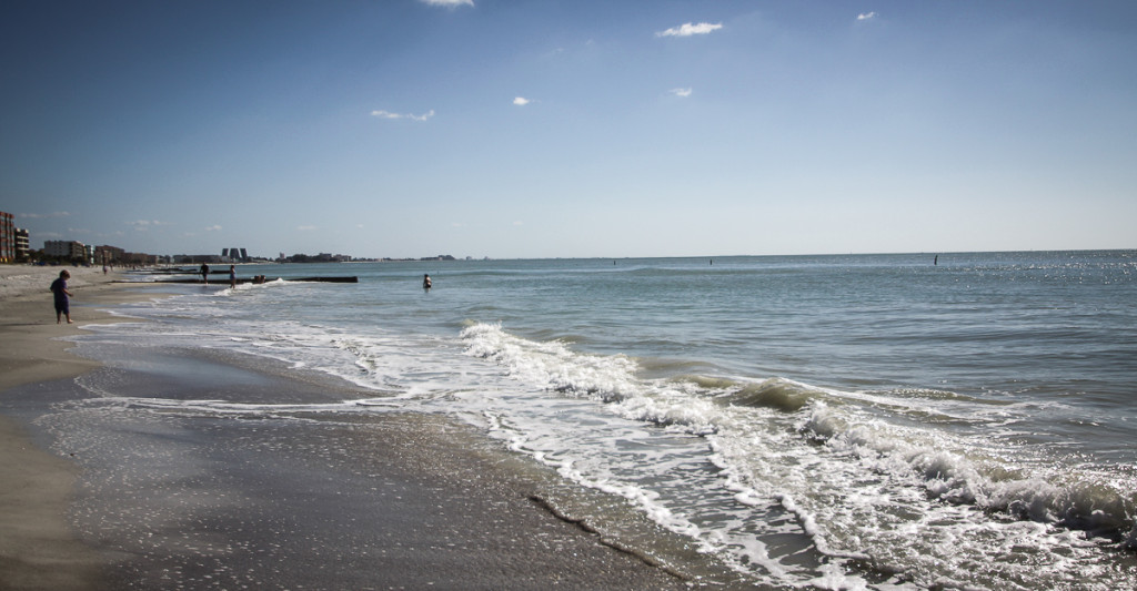 Strand Golf von Mexico