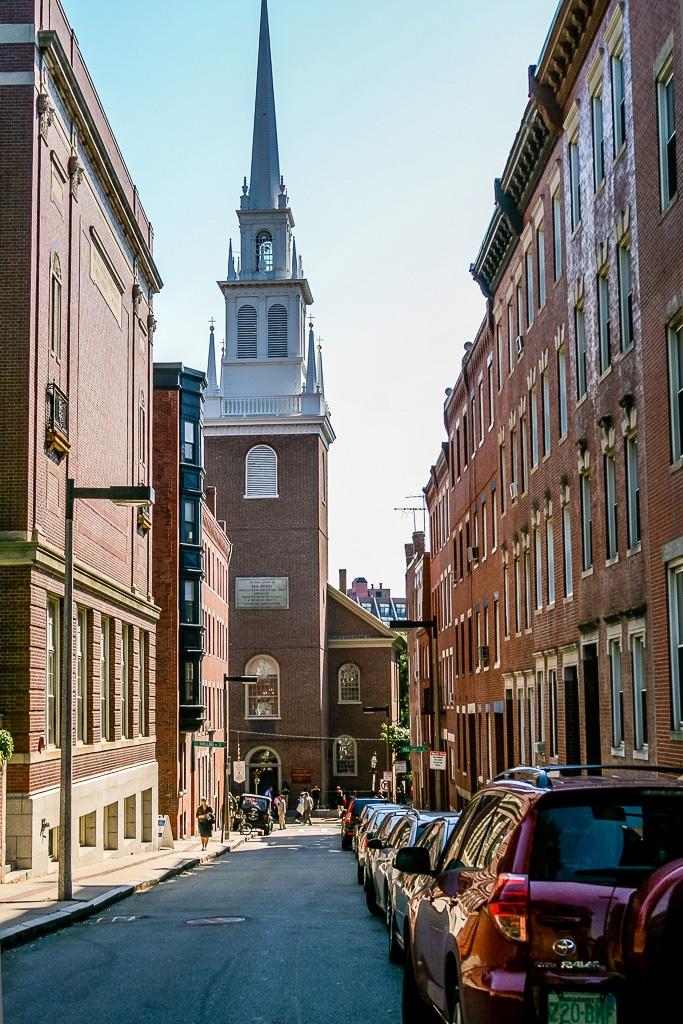 Rückseite der Old North Church