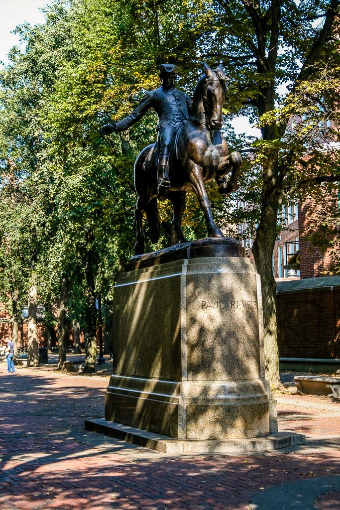 Staute von Paul Revere