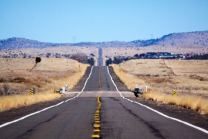 Route 66 nahe Seligman