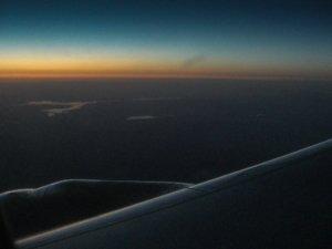 letzte Sonnenstrahlen über dem Lake Mead