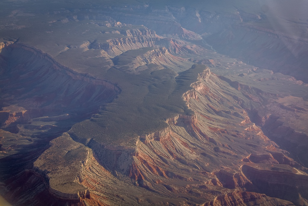 Red Rocks aus der Vogelperspektive