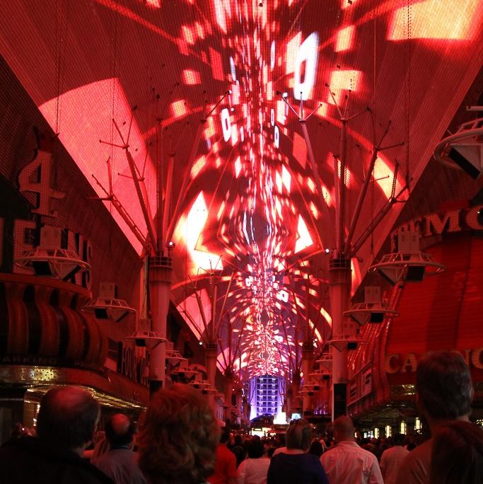 was wäre Vegas ohne bunte Lichter?