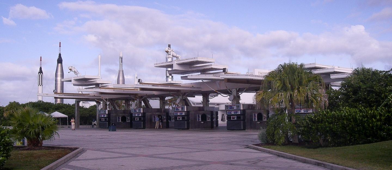 Eingangsbereich Kennedy Space Center