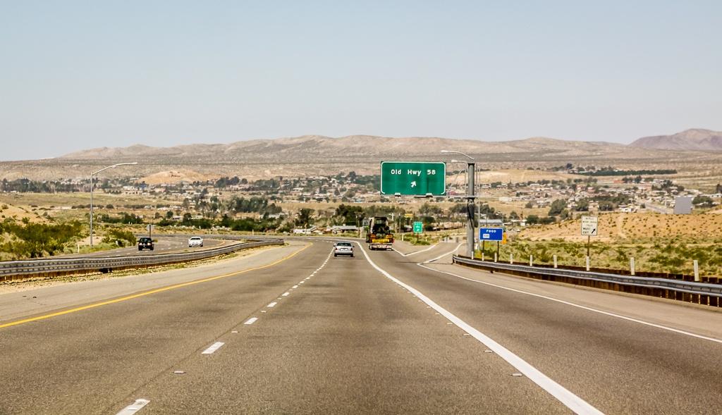 Am Highway nach San Diego