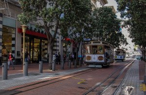 Cable Car der Powell Line