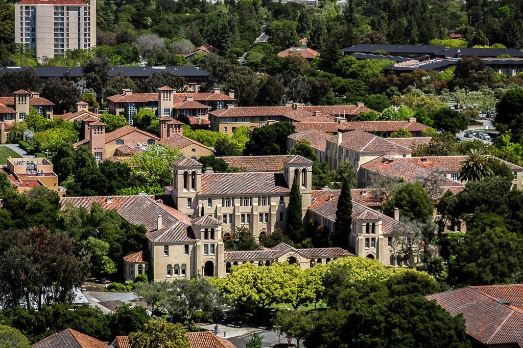 Blick auf den Campus