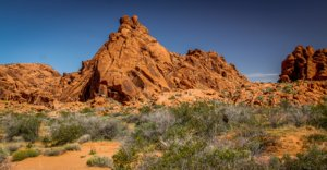 Valley of Fire Felsen