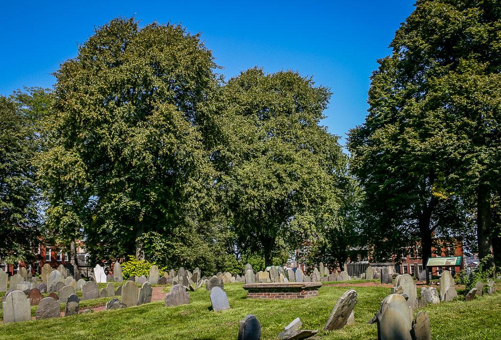 Copp's Hill Burying Ground - Freedom Trail Boston